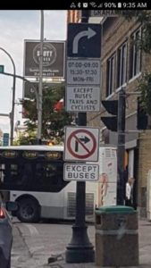 Signage, Wise Up Winnipeg, traffic engineering mutcd